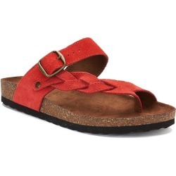 SONOMA Goods for Life™ Maurine Women's Leather Sandals, Size: medium (9), Med Red