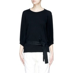 Belted long sleeve T-shirt found on MODAPINS from Lane Crawford-US for USD $230.00