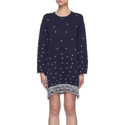 'Cheyenne' embroidered mini dress found on MODAPINS from Lane Crawford-US for USD $335.00