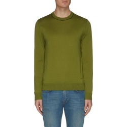 Logo embroidered knit sweatshirt found on MODAPINS from Lane Crawford-US for USD $230.00