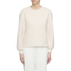 Faux shearling sweatshirt found on MODAPINS from Lane Crawford-US for USD $295.00