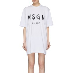 Logo print T-shirt dress found on MODAPINS from Lane Crawford-US for USD $180.00