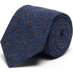 Polka dot print silk tie found on MODAPINS from Lane Crawford-US for USD $155.00