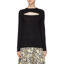 Cutout front yoke long sleeve T-shirt found on MODAPINS from Lane Crawford-US for USD $290.00