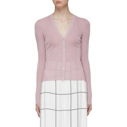 Ribbed pointelle knit cardigan found on MODAPINS from Lane Crawford-US for USD $295.00