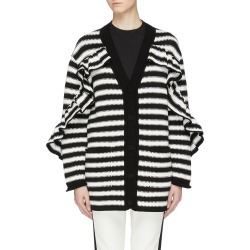 Ruffle stripe cardigan found on MODAPINS from Lane Crawford-US for USD $1035.00