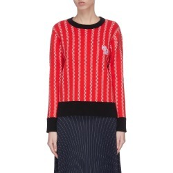 Rat embroidered crew neck sweater found on MODAPINS from Lane Crawford-US for USD $380.00