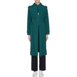 Belted oversized lapel trench coat found on MODAPINS from Lane Crawford-US for USD $1270.00