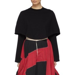 'Doubukko' cape panel long sleeve T-shirt found on MODAPINS from Lane Crawford-US for USD $200.00