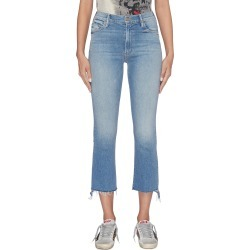 'The Insider Crop Step Fray' jeans found on MODAPINS from Lane Crawford-US for USD $230.00