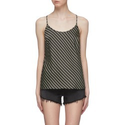 'Wash + Go' stripe racerback camisole top found on MODAPINS from Lane Crawford-US for USD $250.00