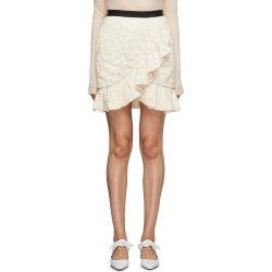 Ruffle hem sequin skirt found on MODAPINS from Lane Crawford-US for USD $340.00