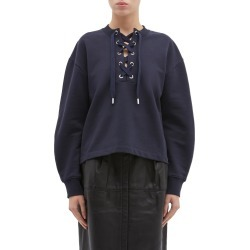 Lace-up sweatshirt found on MODAPINS from Lane Crawford-US for USD $325.00