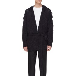 Belted wool rib knit shawl cardigan found on MODAPINS from Lane Crawford-US for USD $805.00