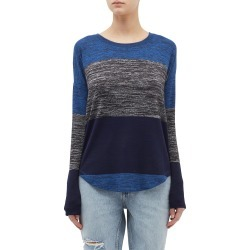 'Hudson' stripe long sleeve T-shirt found on MODAPINS from Lane Crawford-US for USD $165.00