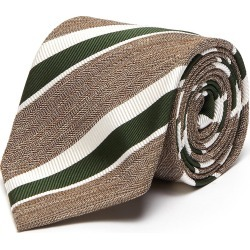 Striped melange jacquard tie found on MODAPINS from Lane Crawford-US for USD $145.00