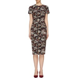 Camouflage jacquard T-shirt dress found on MODAPINS from Lane Crawford-US for USD $1535.00