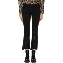 'Selena' sequin cropped flared jeans found on MODAPINS from Lane Crawford-US for USD $180.00