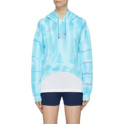 Curve hem tie-dye hoodie found on MODAPINS from Lane Crawford-US for USD $260.00