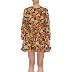'Ella' floral mini dress found on MODAPINS from Lane Crawford-US for USD $395.00