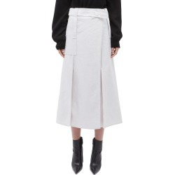 Belted panelled linen wrap skirt found on MODAPINS from Lane Crawford-US for USD $720.00