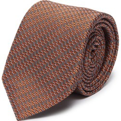 Herringbone jacquard silk tie found on MODAPINS from Lane Crawford-US for USD $155.00