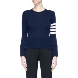 Stripe sleeve cashmere sweater found on MODAPINS from Lane Crawford-US for USD $1390.00