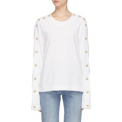 Button long sleeve T-shirt found on MODAPINS from Lane Crawford-US for USD $340.00