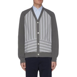 Hybrid panel cardigan found on MODAPINS from Lane Crawford-US for USD $300.00