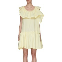 Ruffle Neck Mini Dress found on MODAPINS from Lane Crawford-US for USD $645.00