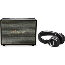 Woburn wireless speaker and Mid wireless over-ear headphones set
