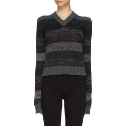 Stripe V-neck sweater found on MODAPINS from Lane Crawford-US for USD $380.00