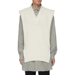 V-neck knitted vest found on MODAPINS from Lane Crawford-US for USD $670.00