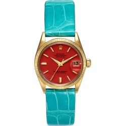 Rolex DateJust Oyster Perpetual 18k yellow gold 1098733 watch found on MODAPINS from Lane Crawford-US for USD $10300.00