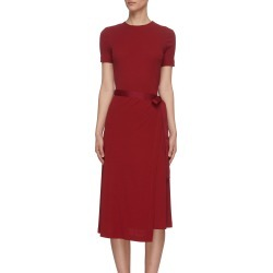 Apron wrap T-shirt dress found on MODAPINS from Lane Crawford-US for USD $590.00