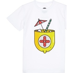 Lemonade print kids T-shirt