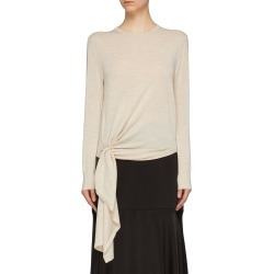Ring buckle drape wool sweater found on MODAPINS from Lane Crawford-US for USD $222.00
