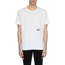 'Skeleton' slogan graphic print T-shirt found on MODAPINS from Lane Crawford-US for USD $150.00