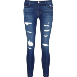 'Cropped Skinny' distressed jeans found on MODAPINS from Lane Crawford-US for USD $140.00