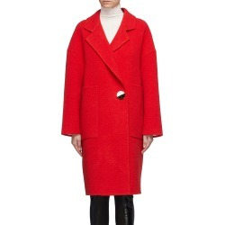 Button wool-cashmere melton coat found on MODAPINS from Lane Crawford-US for USD $1390.00