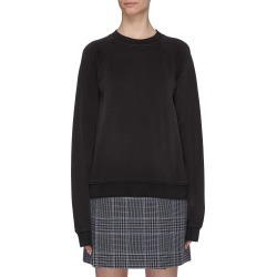 Distressed edge sweatshirt found on MODAPINS from Lane Crawford-US for USD $290.00