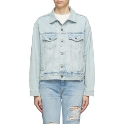 'Kim' distressed denim jacket found on MODAPINS from Lane Crawford-US for USD $280.00