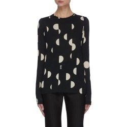 Broken dot graphic print long sleeve T-shirt found on MODAPINS from Lane Crawford-US for USD $370.00