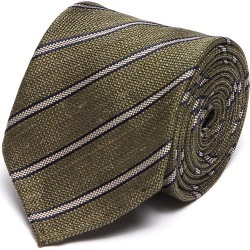 Striped Regimental Silk Tie found on MODAPINS from Lane Crawford-US for USD $205.00
