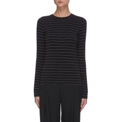 Pinstripe Long Sleeve T-shirt found on MODAPINS from Lane Crawford-US for USD $135.00