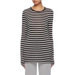 Stripe long sleeve T-shirt found on MODAPINS from Lane Crawford-US for USD $175.00