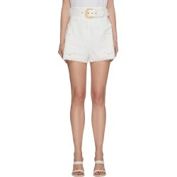 'Peggy' embroidered shorts