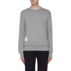 Stripe back button cuff sweatshirt found on MODAPINS from Lane Crawford-US for USD $590.00