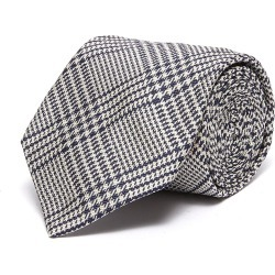 Houndstooth jacquard check silk tie found on MODAPINS from Lane Crawford-US for USD $215.00