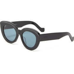 Acetate oversized cat eye sunglasses